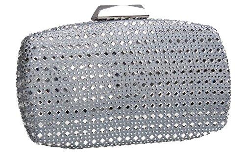 Pochette pour Unique Clutch Bag Swankyswans Taille Silver femme qRtEn8