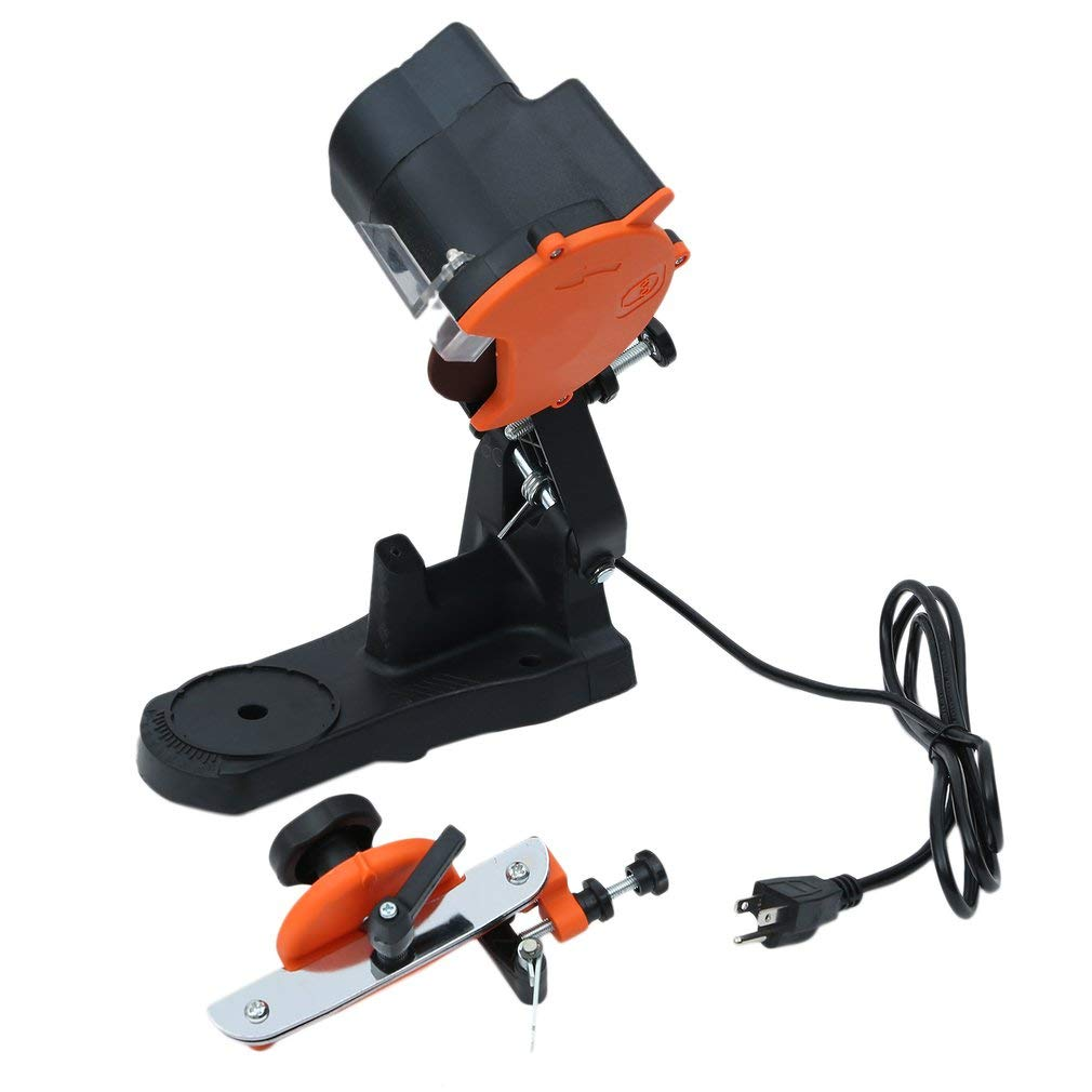 Homgrace Electric Chain Saw Sharpener, Heavy Duty Sharpening Machine 85W Electric Chainsaw Sharpener Chainsaws