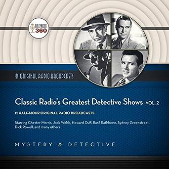 Amazon com: Classic Radio's Greatest Detective Shows, Vol  2