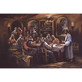 Amazon Com African American Black The Last Supper Jesus