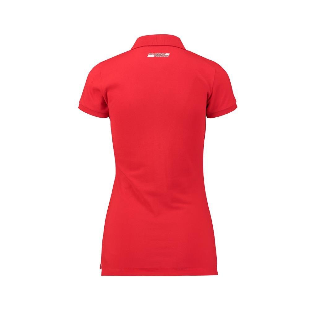 Scuderia Ferrari Formula 1 Womens Red Classic Polo F1