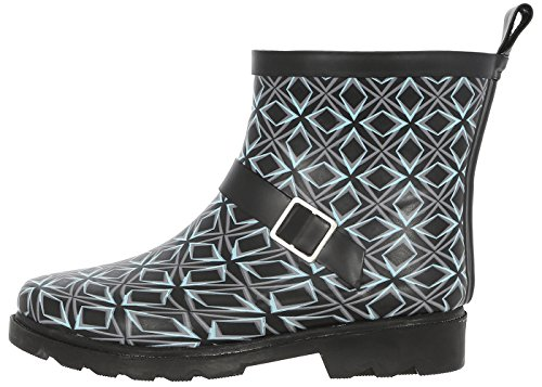 Capelli New York Da Donna Short, Sportivi, Foderati Rainboots Neri Blu