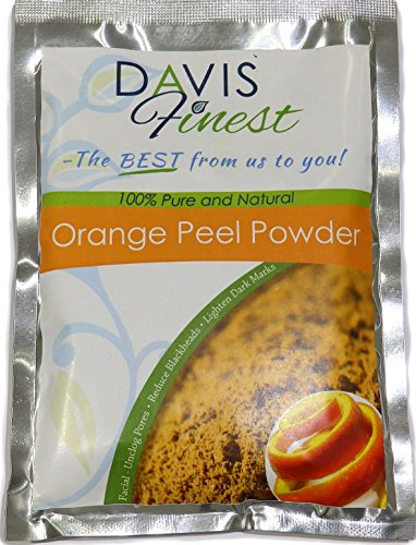 Orange Peel Powder - Pure Natural Face Lightener Brightener