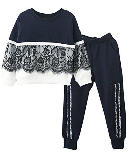 Little Girls' Kids Long Sleeve Top Pants Leggings
