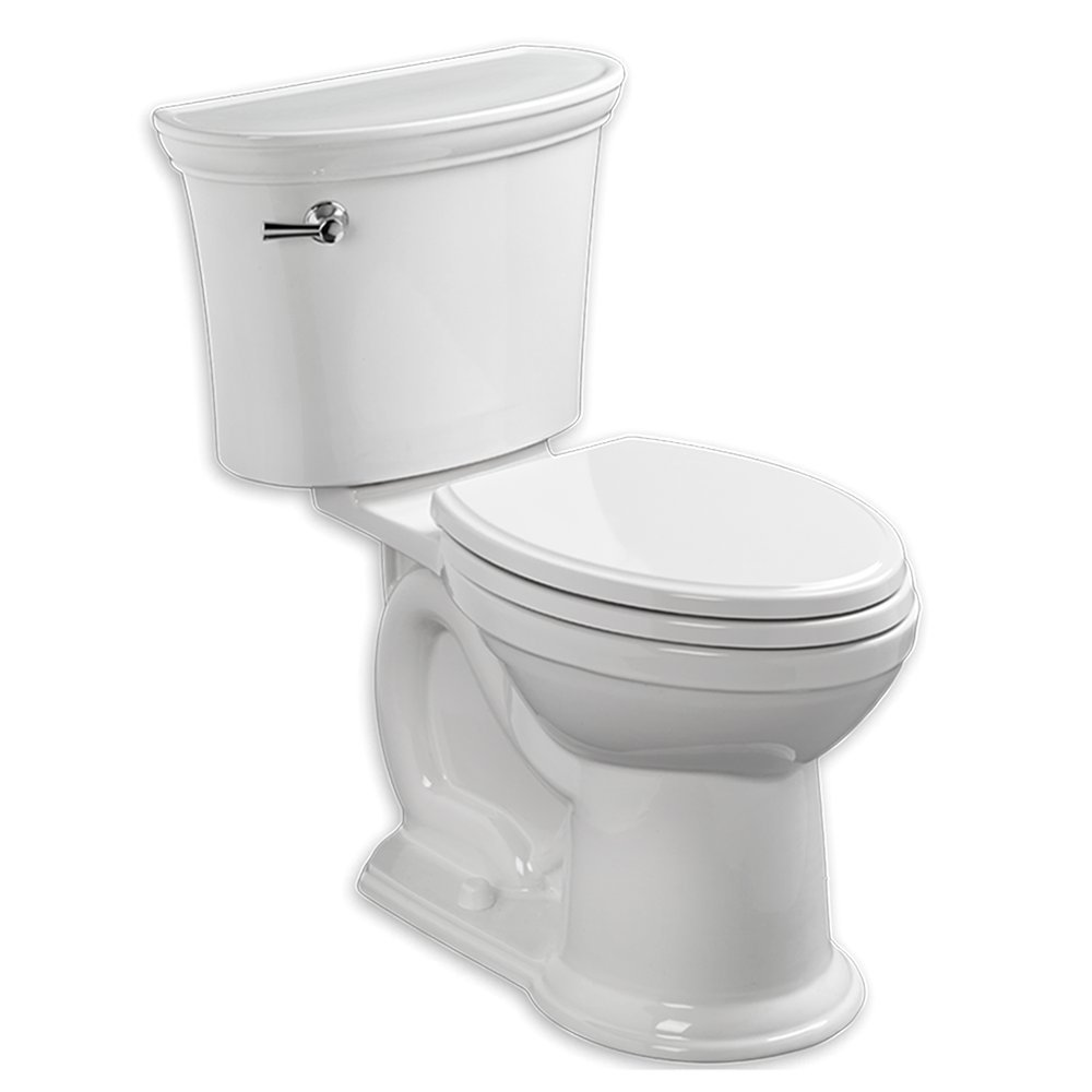 Heritage Vormax 1.28 GPF Elongated Toilet 2 Piece by American Standard