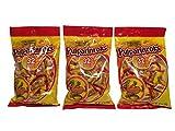 De La Rosa Tamarindo Mexican Candy, Pulparinroks, 32 Pieces 6.7 oz Per Pack (Pack of 3)