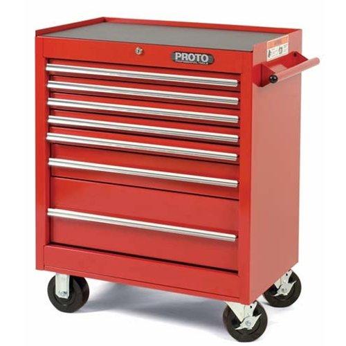 Stanley Proto J442735-7RD 440SS 27-Inch Roller Cabinet, 7 Drawer, (Stanley Halloween)