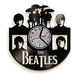 Beatles Yellow Submarine Vinyl Record Wall Clock . Rock music band wall art. Perfect gift for music fan.