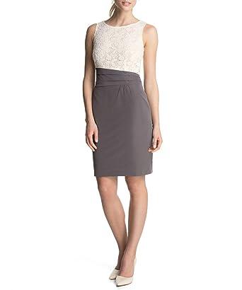 Kleid mit spitze knielang