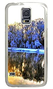 Samsung Galaxy S5 Very beautiful snow PC Custom Samsung Galaxy S5 Case Cover Transparent by icecream design