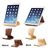 Wood Stand Holder for eBook, Tablet or ipad (Birch Color) by Pdair