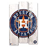 Houston Astros Wood Fence Sign