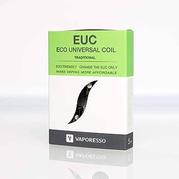 RESISTENCIAS EUC CLAPTON VAPORESSO (PACK DE 5): Amazon.es: Salud y ...