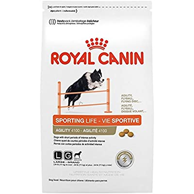 Royal Canin Lifestyle  Health Nutrition Sporting Life  Agility 4100 Dry Dog Food , 25 Lb