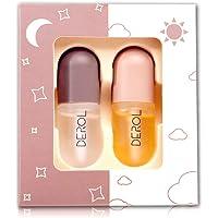 KISSIO Lip Plumper Set,Natural Lip Plumper and Lip Care Serum,derol lip plumper,Lip Enhancer for Fuller,lip filler…