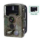 Hunting Trail Camera,FLAGPOWER Wildlife Game Camera 16MP 1080P HD Low Glow with Time