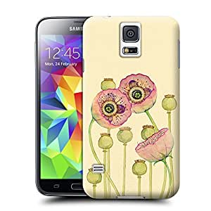Unique Phone Case Flowers and birds Lotus in full bloom bud Hard Cover for samsung galaxy s5 cases-buythecase