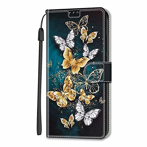 Miagon Wallet Case for Samsung Galaxy A72 4G/5G,Creative Pattern Flip Leather Case Cover with Credit Card Slot ID Card…