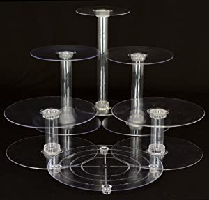 Inch Cake Stand Clear Plastic