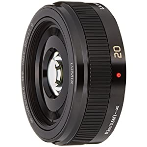 Panasonic LUMIX G 20mm / F1.7 II ASPH. H-H020A -K (Black) - International Version (No Warranty)