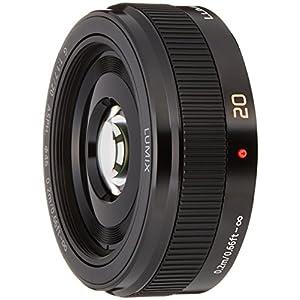 Panasonic LUMIX G 20mm / F1.7 II ASPH. H-H020A -K (Black) - International Version (No Warranty)