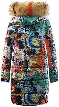 Burbarry Aux Femmes Mode Vêtements en Coton Longue Section Simple Boutonnage Imitation Cheveux Polyester Down Jacket,04,XL