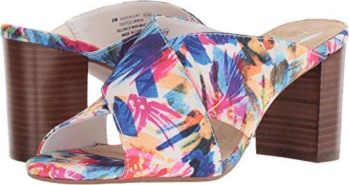 Aerosoles Women's HIGH Alert Heeled Sandal, Floral Combo, 10.5 M US