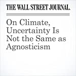 On Climate, Uncertainty Is Not the Same as Agnosticism | Greg Ip