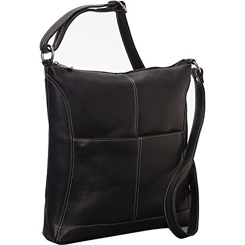 le-donne-leather-easy-slip-crossbody-black