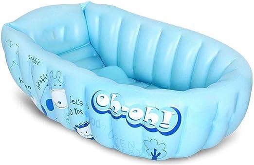 TYUIO Bañera Inflable para bebés, Mini Piscina portátil de Aire ...