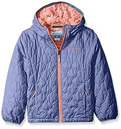 Columbia Big Girls\' Bella Plush Jacket, Bluebell, Small