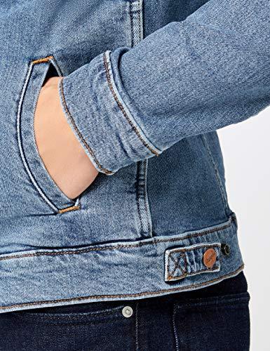 Vaquera Jacket Chaqueta midstone Azul Hombre 091 Para Wrangler Regular PtnEZxwqwH