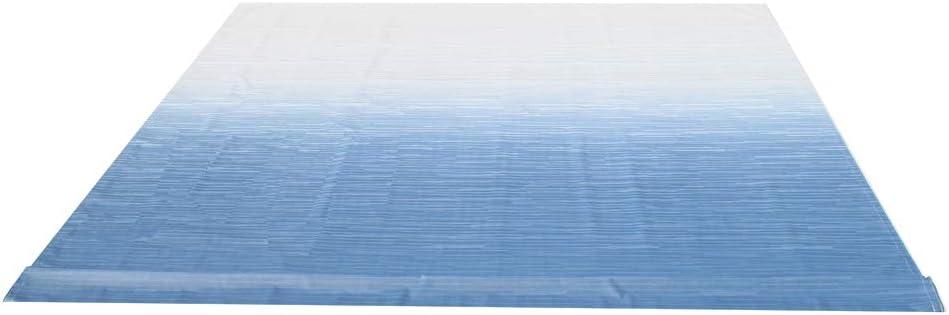 ALEKO RVFAB12X8BLUE24 RV Awning Fabric Replacement 12 x 8 Feet Blue Fade