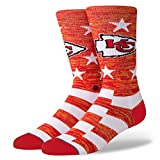Stance M558C18CHB Men's Chiefs Banner Sock