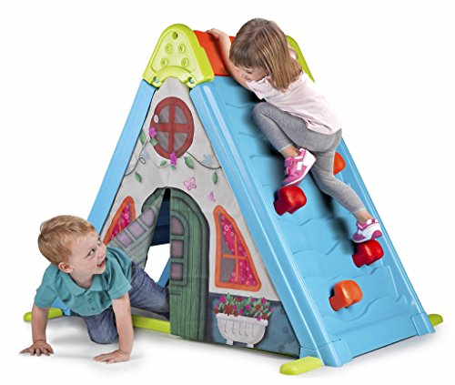 51FTf5MYjIL - Feber Play & Fold Activity House 3in1 – Playset - Easy to Store – Indoor and Outdoor – for Kids from 2 Years Old