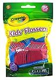 Gum Flossers 75 Count Crayola Kids (2 Pack)
