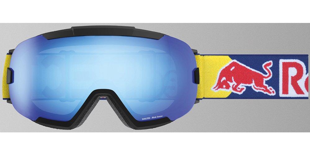 a79b16cdc01 Red Bull Spect Eyewear Skibrille Shelter 001 schwarz matt blue snow   Amazon.de  Sport   Freizeit