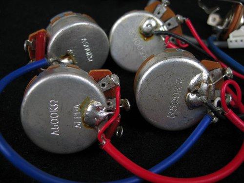 Genuine Epiphone Wiring Harness Alpha Pots Switch Jack New