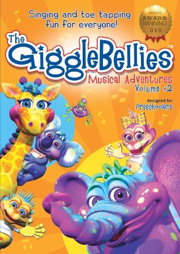 The GiggleBellies Musical Adventures Volume