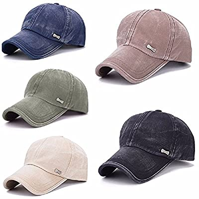 GTI Washed Cotton Blend Golf Hip-hop Cap Sports Adjustable Outdoor Hat