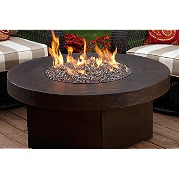 Amazon Com Oriflamme Savanna Stone Gas Fire Pit Table