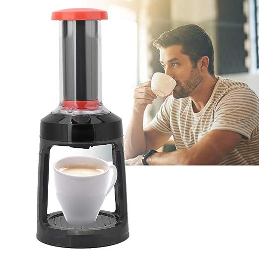 Cafetera a Presión Manual Cafetera de Cápsulas Máquina de Café de ...