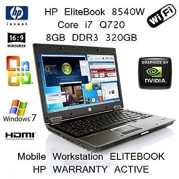 HP EliteBook 8540w Mobile Workstation Intel SSD Drivers for Windows 7