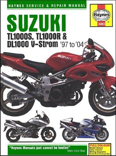 1997-2004 Suzuki DL TL 1000 VStrom HAYNES REPAIR MANUAL (Vstrom 1000)