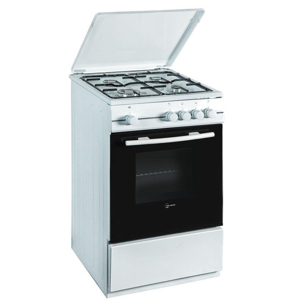 cucina atlantic 50x50 bianca forno gas 4 fuochi amazonit casa e cucina