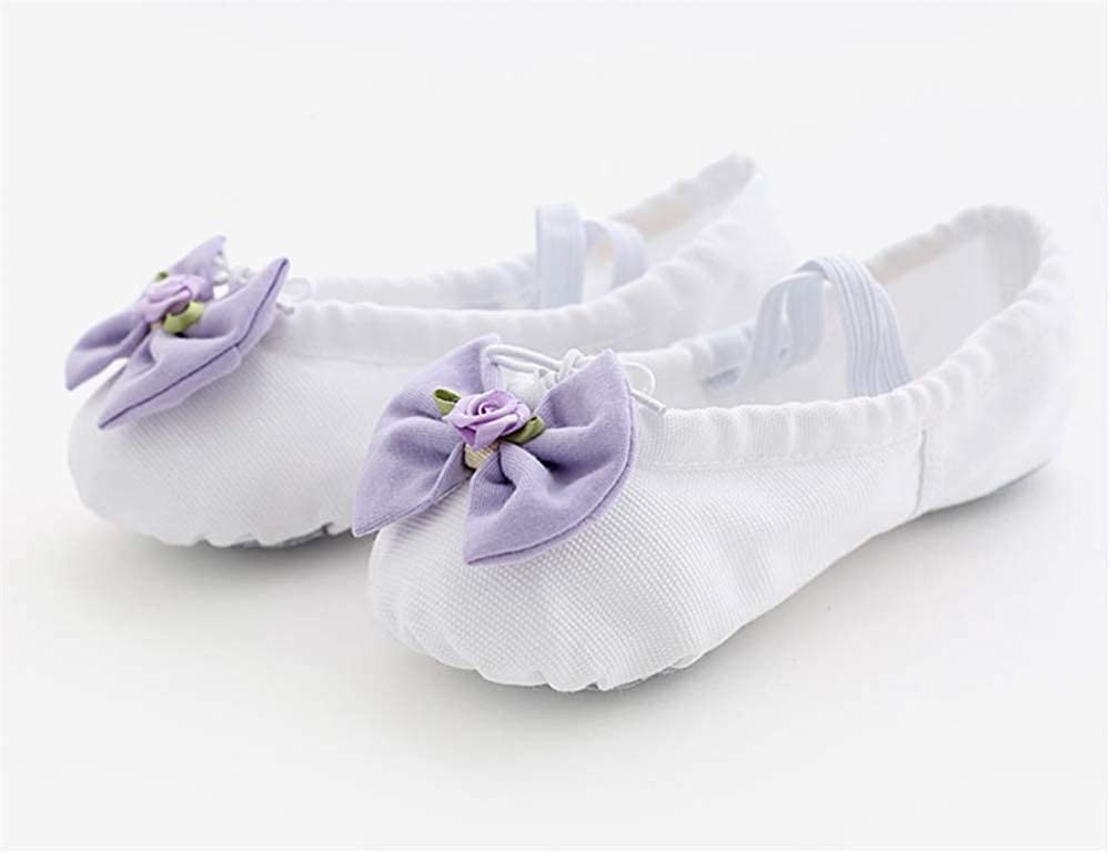 White-EU 30//12.5 M US Little Kid Kids Classic Ballet Flat Shoes