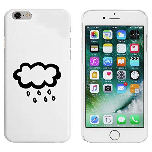 Weiß 'Regenwolke' Hülle für iPhone 6 u. 6s (MC00004426)