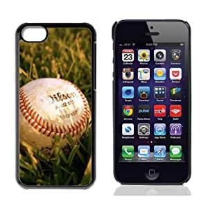 MLB Baseball Hard Plastic and Aluminum Back Case For Apple iphone 5C With 3 Pieces Screen Protectors