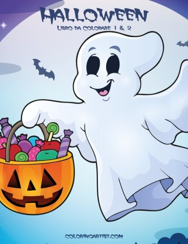 Halloween Libro da Colorare 1 & 2 (Italian Edition)]()