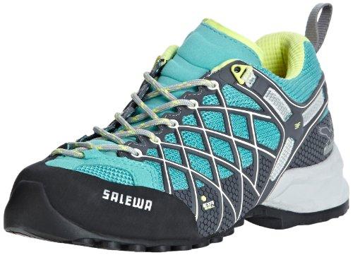SALEWA WS WILDFIRE 00-0000063305 - Zapatillas de montaña para mujer Turquesa (Türkis (Atlantis/Sulphur 8481))